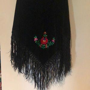 Accessories - Boho gypsy shawl